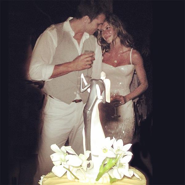 Gisele Bundchen i Tom Brady na privatnom vjenčanju 2009. godine