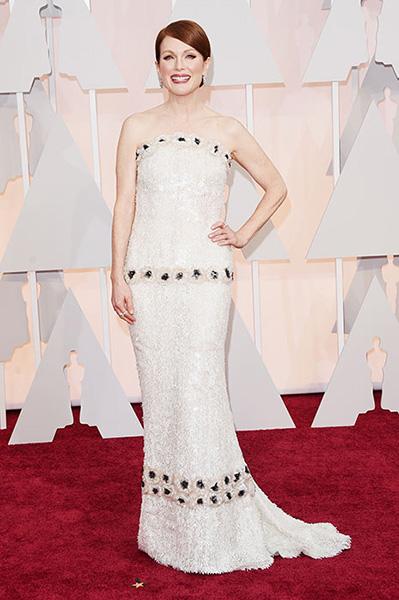 Julianne Moore Oscars 2015 vjenčanica