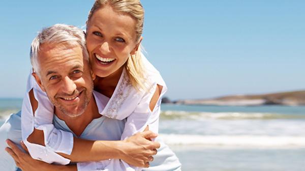 Sretan stariji par