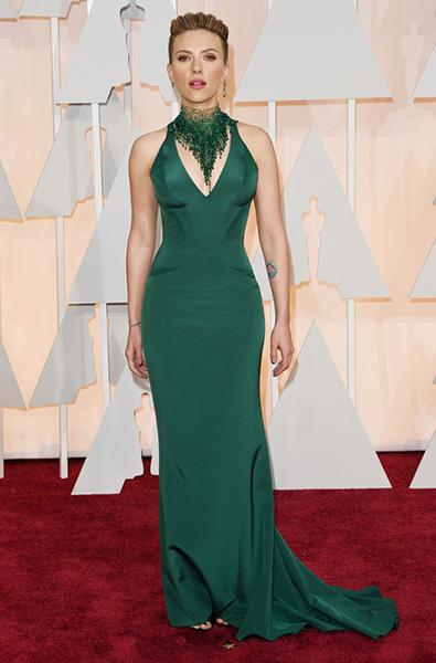 Scarlett Johansson oscars 2015 vjenčanica
